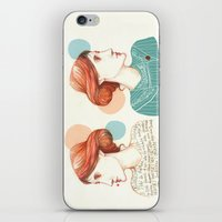virginia iPhone & iPod Skins featuring Dear Virginia... by flaviasorr