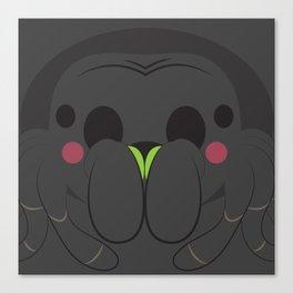 Tarantula Block Canvas Print