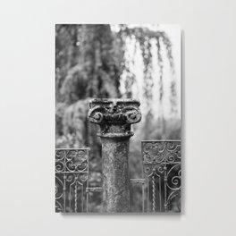 Stone Pillar, Como Metal Print