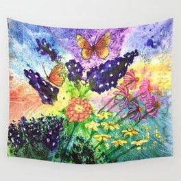 Bluebonnet Bouquet Wall Tapestry