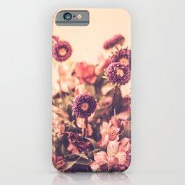 Manifesting Joy - Flower Photography iPhone Case