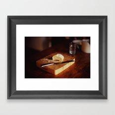 Pure Bread Framed Art Print