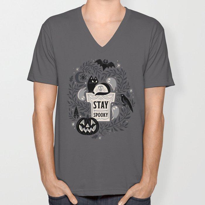 Stay Spooky Unisex V-Neck