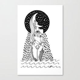 luna llorona Canvas Print