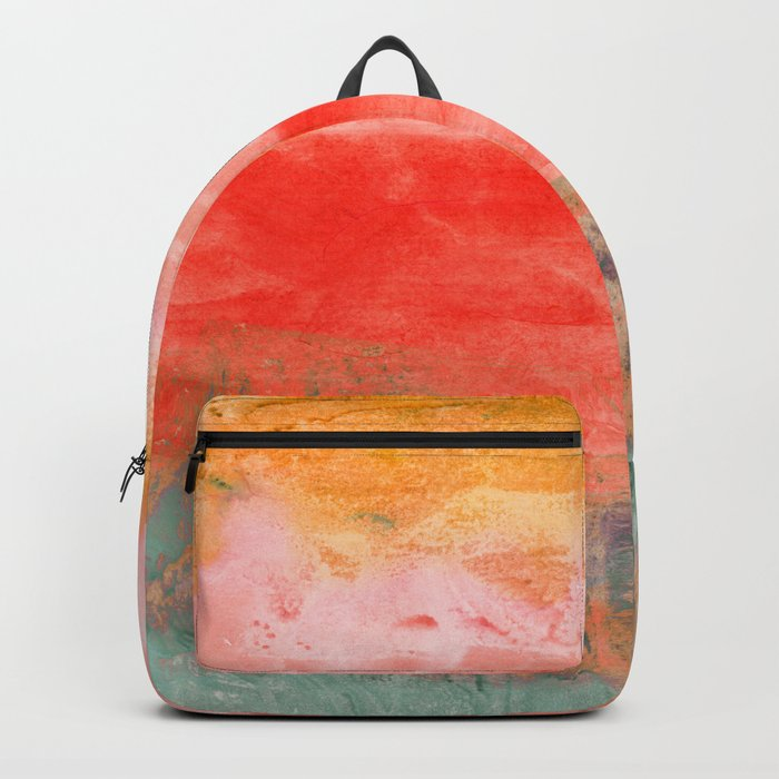 coral horizon Backpack