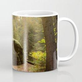 Large Boulder in Elbe Sandstone Mountains Coffee Mug