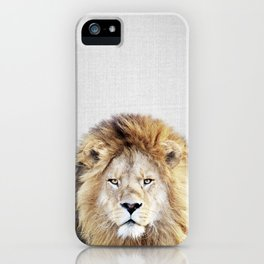 Lion 2 - Colorful iPhone Case