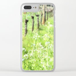 SPRING VINEYARDS Clear iPhone Case
