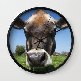 Moo  Wall Clock