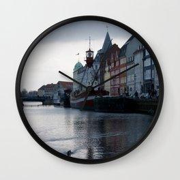 Nyhavn Copenhagen 1 Wall Clock
