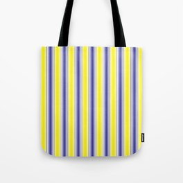 Complementary Series: 1. Purple and Yellow Gradient Tote Bag