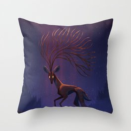 The Wendigo Throw Pillow
