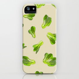Lettuce Bok Choy Vegetable iPhone Case