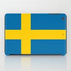 National flag of Sweden iPad Case