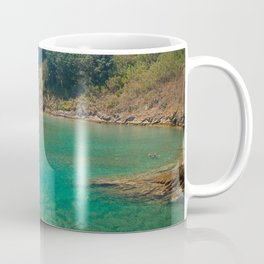 Contemplating the lagoon Coffee Mug