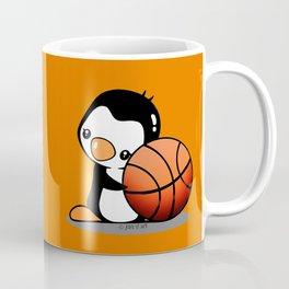 Basketball Penguin Coffee Mug