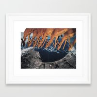 tame impala Framed Art Prints featuring Impala by Lerson