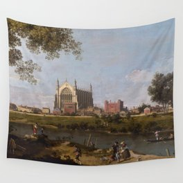 Eton College Chapel by Canaletto Wall Tapestry