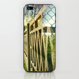 Two Fences iPhone Skin