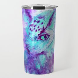 purple owl Travel Mug
