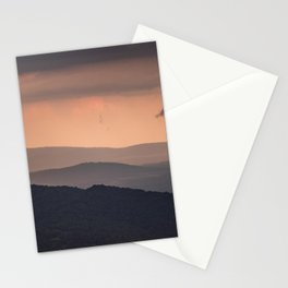 Blue Ridge Parkway Sunset - Shenandoah National Park Stationery Cards
