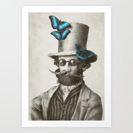 Doctor Popinjay (Color Option) Art Print