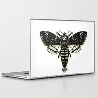 moth Laptop & iPad Skins featuring Moth by Nick Rissmeyer