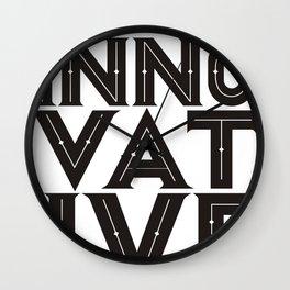 Good designs is innovative Wall Clock