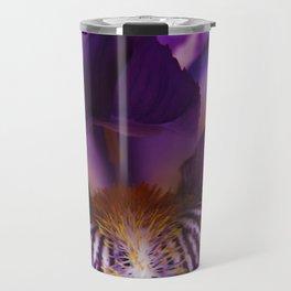 Iris Abstraction #103 Travel Mug