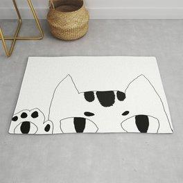 Cute Cat Art Rug