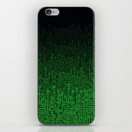 Reboot II GREEN iPhone Skin