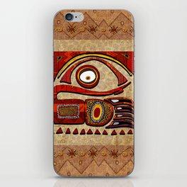 Chu Mtu African Folk Art iPhone Skin