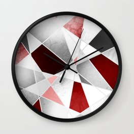 BLOOD STAINED GLASS WINDOW Wall Clock