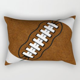 Fantasy Football Super Fan Touch Down Rectangular Pillow