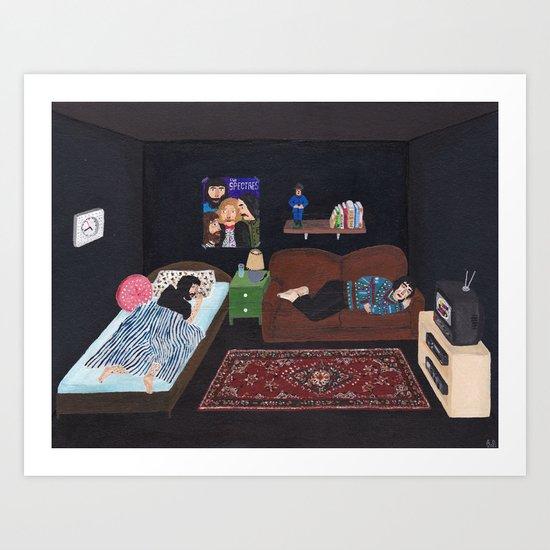 Black Room Art Print