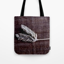 Grass Seed Rustic Art Print Digial Photography Tote Bag
