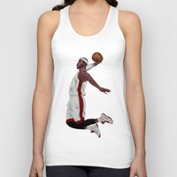 lebron Tank Tops featuring Lebron James by siddick49
