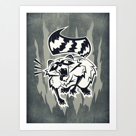 Rabid  Art Print