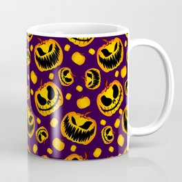 Spooky Halloween Pumpkins Coffee Mug