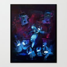Disco Canvas Print