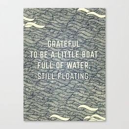Still Floating Canvas Print