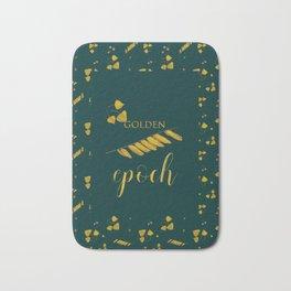 Golden epoch Bath Mat