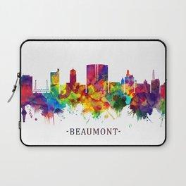 Beaumont Texas Skyline Laptop Sleeve