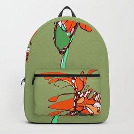 Autumn Olive Gerbera Backpack