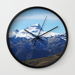 Uncompahgre Peak First Snow Wall Clock