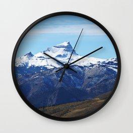 Uncompahgre Peak First Snow Wall Clock