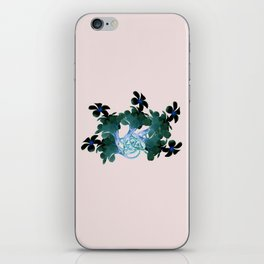 Marine halo iPhone Skin