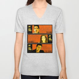 The good, the sexy, the asshole Unisex V-Neck