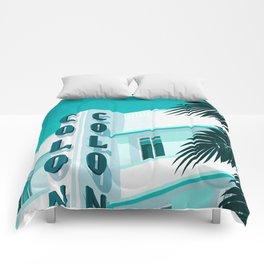 Colony Hotel Miami Beach Comforters