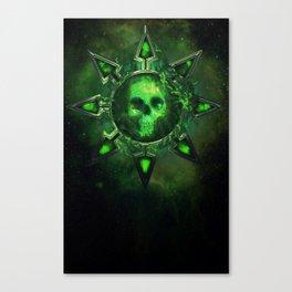 Chaos Icon - Nurgle Canvas Print